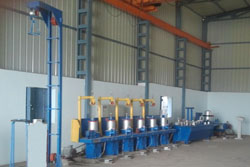 Copper Coating Plant
